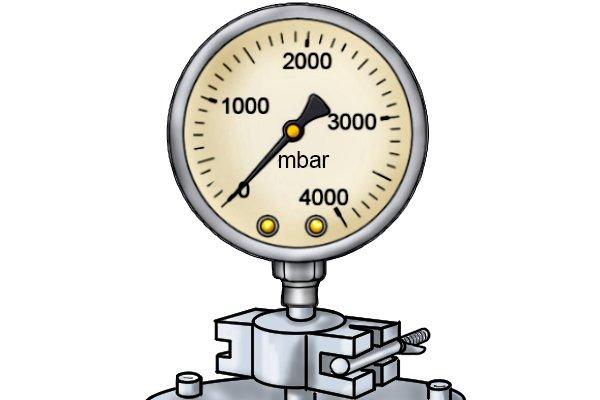 Water pressure gauge precise instruments wonkee donkee tools DIY guide