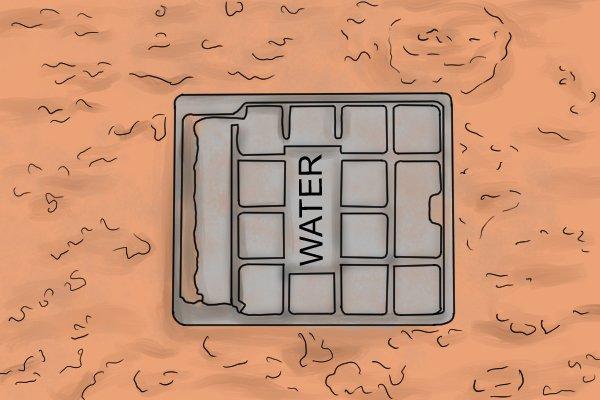 Uk water meter cover, water pressure