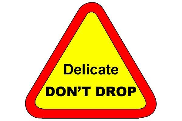 Delicate instruments - don't drop! Water pressure gauge