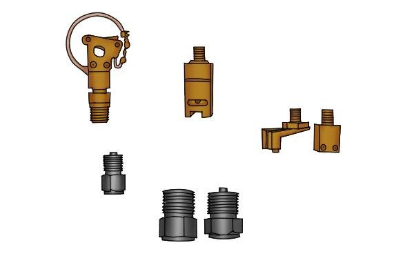 Water pressure gauge spare parts
