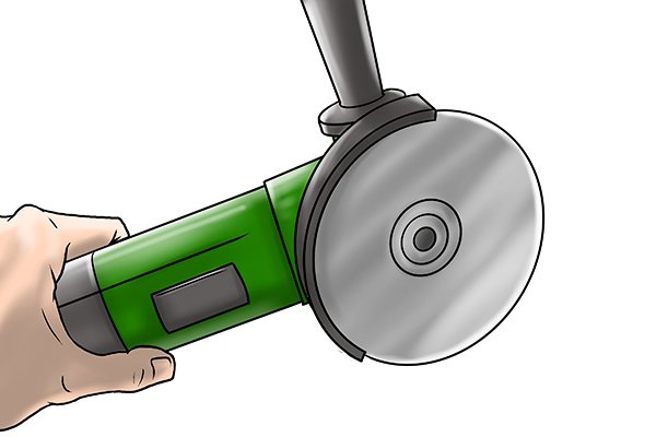 hand angle grinder