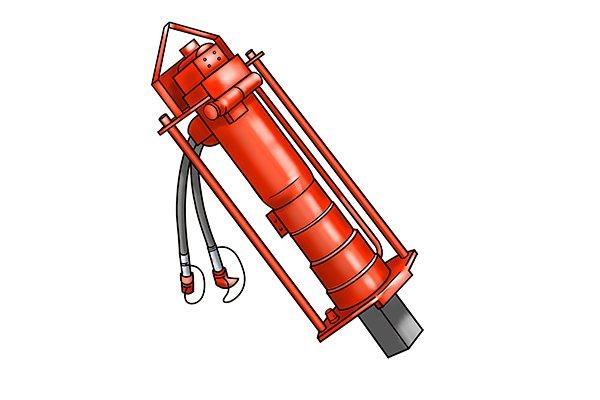 hydraulic post rammer
