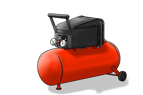 air compressors similar to this are required to operate pnuematic post rammers