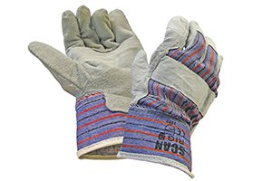 the wearing of gloves will help with the absorption caused by the impact on the post