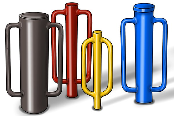 other than the diameter of the post rammer tube, relating to the size of post, there are is nothing to compare between one or another