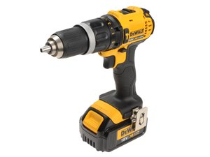 power tools cordless 18V combi drill with keyless chuck Dewalt