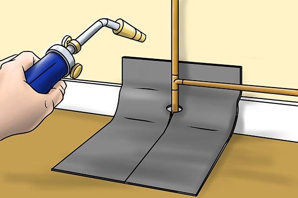 Soldering pad heatproof mat fibreglass