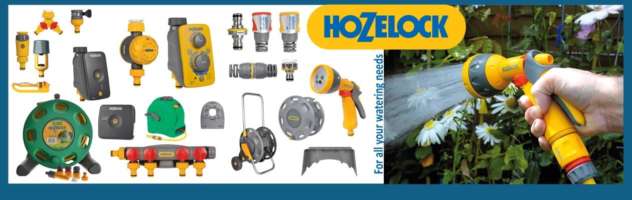 Wonkee Donkee Garden watering products - view our range of Hozelock hoses, adapters, reels and watering systems