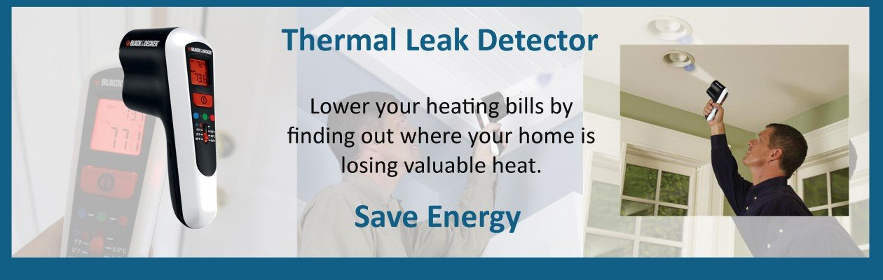 Wonkee Donkee Thermal Heat Detector saves you money and the environment