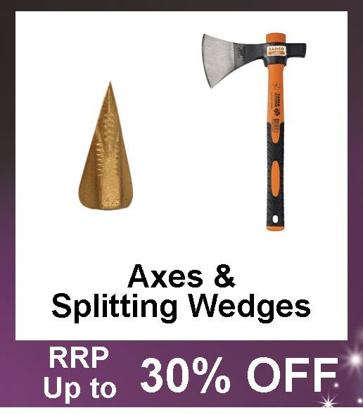 Up to 30% Off Axes and Splitting Wedges