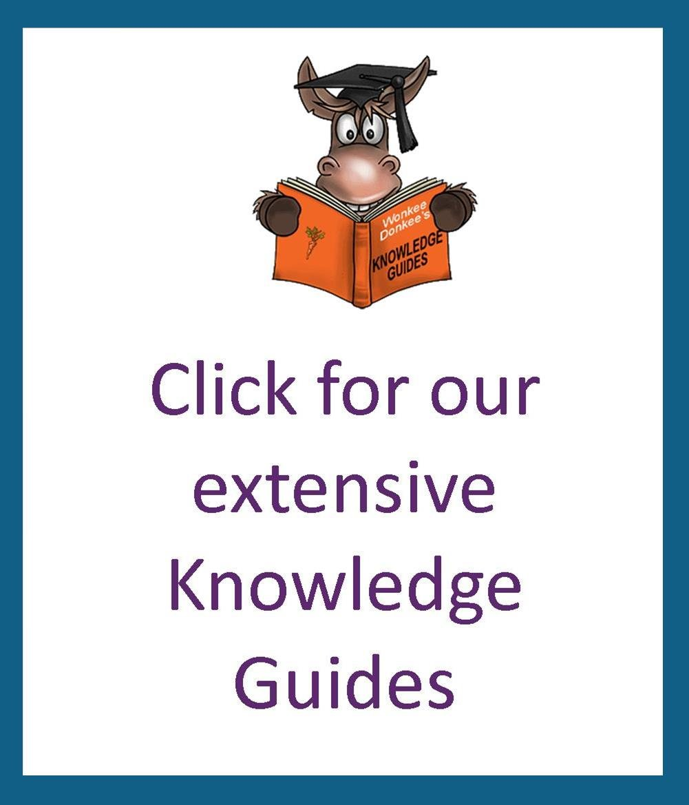 Wonkee Donkee Tools Shop Knowledge Guides - our team of experts have put together these guides to help you choose the best tool for the job.