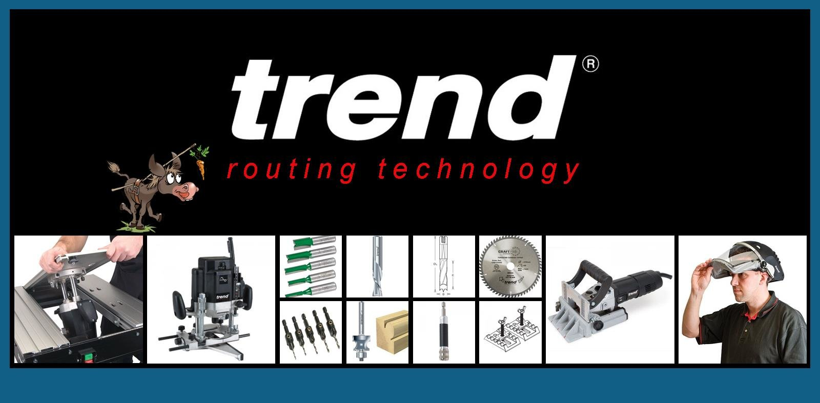 Trend Power Tools, Routers, Router Cutters, Hand tools, Jigs and Accessories