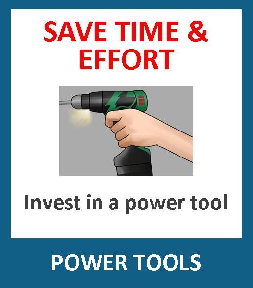Save time and effort by investing in a good quality power tool. From mains powered to cordless, and screwdrivers to demolition hammers, routers, hammer drills, mixers, planers, biscuit jointers, nailers, glue guns, grinders, sanders etc, we have the powertool for you.
