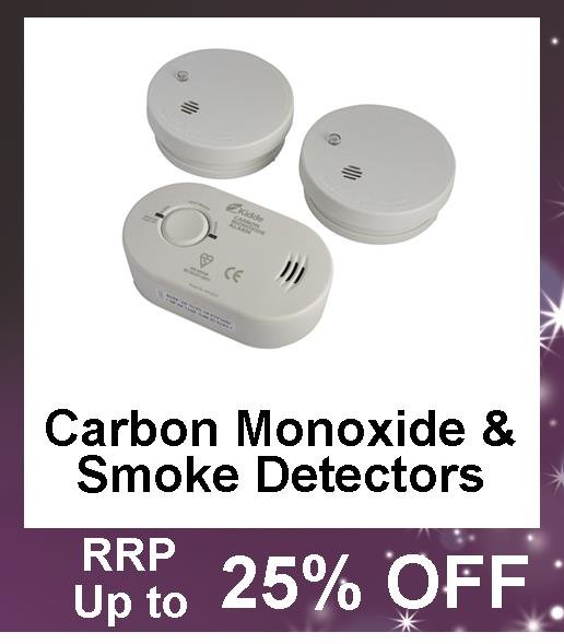 Up to 25% Off Smoke Detectors and Carbon Monoxide Detectors