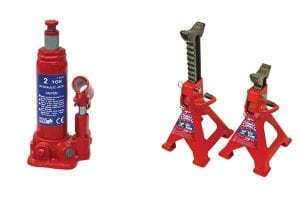 Bottle Jacks and Axle Stands comparison