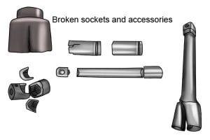 Broken socket sets