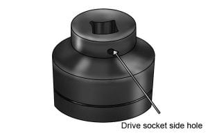 Drive Socket Side Hole