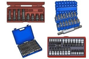 In hex and socket sets combined