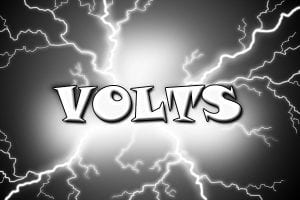 Insualted sockets measured by volts