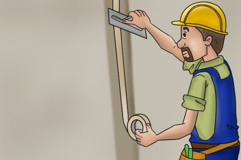 Using Plasterboard Joint tape when repairing a wall