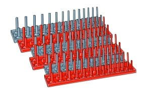 Socket Peg Trays