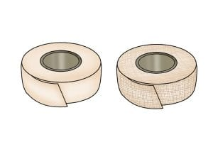 Types of plasterboard joint tape