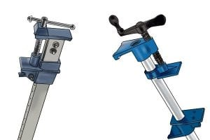 Types Of Clamps >> What Are The Different Types Of Clamp Wonkee Donkee Tools