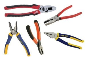 Combination Pliers come in a range of size and shapes and a good set can complete thousands of tasks.
