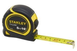 Everyone should own a tape measure it is a key hand tool.