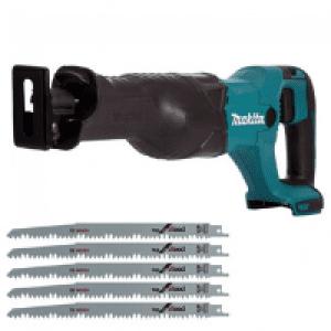Recipricol saws can make qucik cuts whilst providing complete mobility.