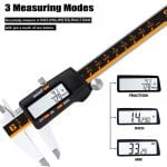 GlowGeek CD-6-150 Digital Caliper measuring modes