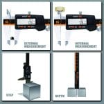 GlowGeek CD-6-150 Digital Caliper Details