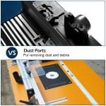 Goplus Electric Aluminum Router Table dust ports