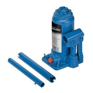 Example of a hydraulic bottle jack.