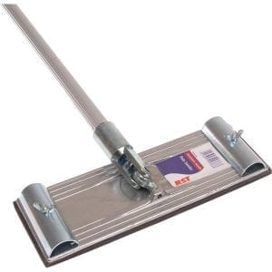 Soft touch pole sander