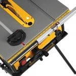 DEWALT DWE7480 Table Saw base