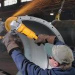 DeWalt DW840 Angle Grinder grinding