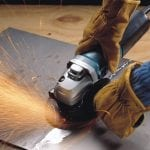 Makita 9564CV angle grinder polishing