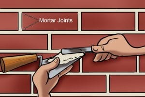 Brick jointer to fix mortar joints