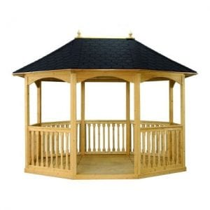 Liveoutside Brompton Small Wooden Gazebo