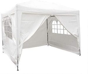 AIRWAVE Gazebo Four Seasons Essential Pop-Up with Sides is the best gazebo with sides available in the UK.