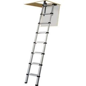Abru 37000 3 Section Compact Aluminium Loft Ladder