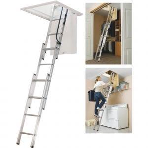 WERNER LADDER AA1510 Ladder Aluminum Attic