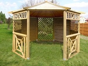Garden Wooden Gazebo Pavilion