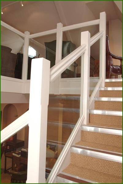 Staircase designed and built in Derby, England.