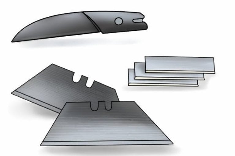 Replacable Blade on mitre shears