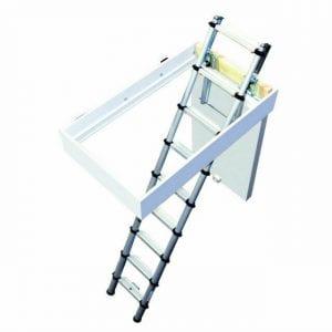 Youngman 301001 Telescopic Loft Ladder Aluminium 2.9 Metres