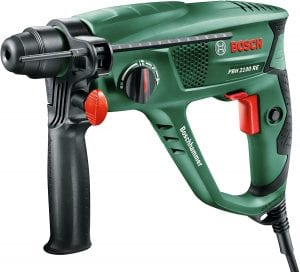 Hammer drills are key for drilling into tough surfaces.