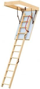 Keylite Timber Wooden Loft Ladder KYL04