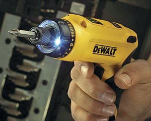 DeWalt Motion Activated Screwdriver.